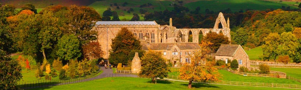 Bolton Abbey near The Dalesman Guesthouse